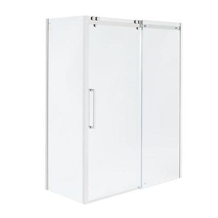 1200 x 760 Shower Enclosure Left Hand 10mm Easy Clean Glass - Trinity Range