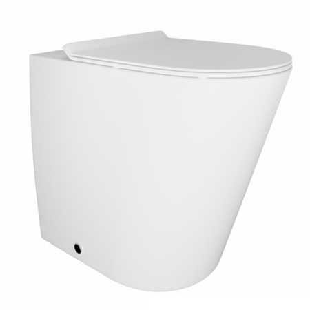 Venus Back To Wall Toilet - Round Thin Seat Seat