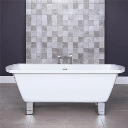 Tabor 1670 x 750 Freestanding Bath with Modern Feet