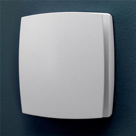 Breeze White Wall Mounted Fan - Timer and Humidity Sensor