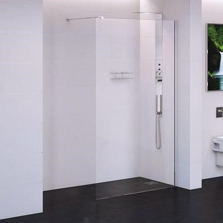 1200 x 2000mm Wet Room Screen 10mm Glass - Trinity
