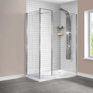 Curved Walk In Showers Enclosures The Best Shower