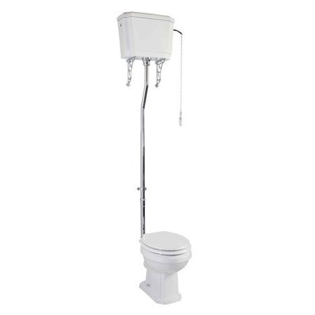 Taylor & Moore Traditional High Level Toilet with Soft Close Seat