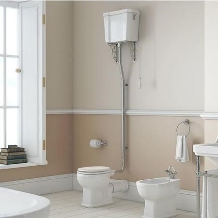 Park Royal High Level Toilet with Cistern and Flush Kit