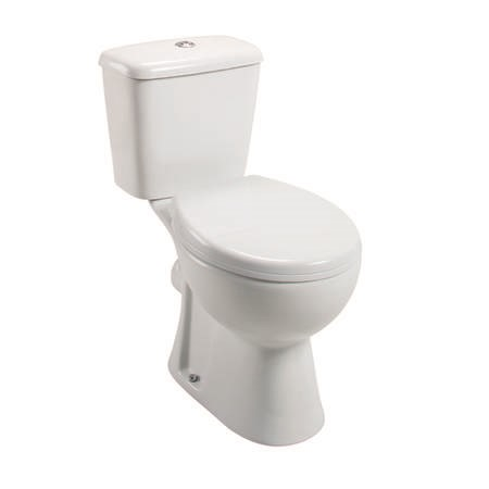 Essence Close Coupled Toilet with Soft Close Seat