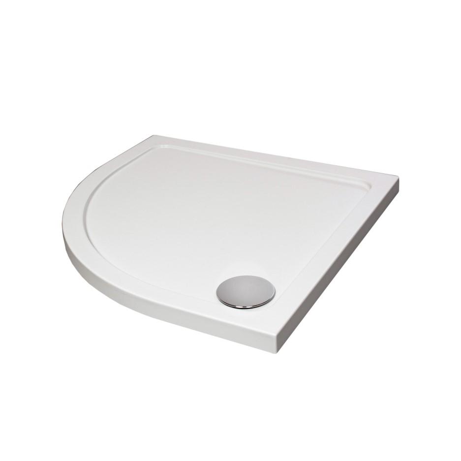 Quadrant Acrylic Capped Stone Resin Shower Tray 900 X