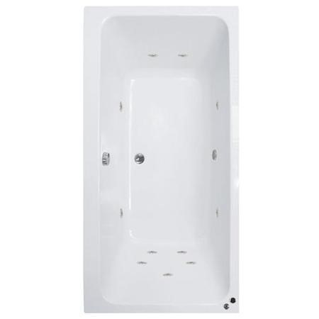 Turin 1700 x 750 Double Ended Whirlpool Bath