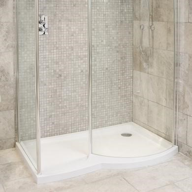 Silver Beige Tumbled Wall/Floor Mosaic