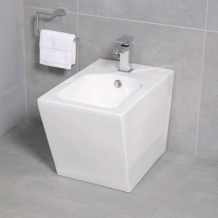 Back to Wall Bidet Square One Tap Hole - Havana Range
