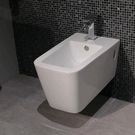 Wall Hung Bidet One Tap Hole - Bali Range