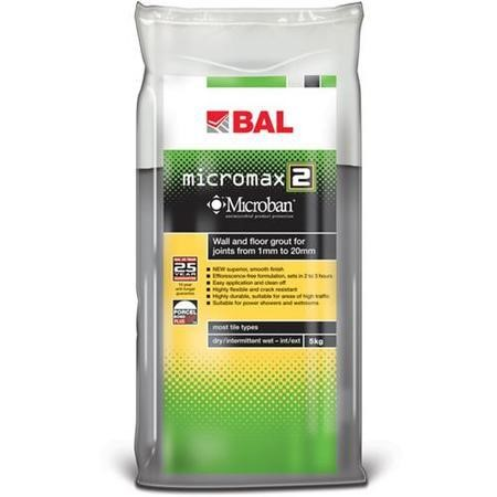 BAL Micromax2 Grout Adhesive-Micromax2 Grout SMOKE