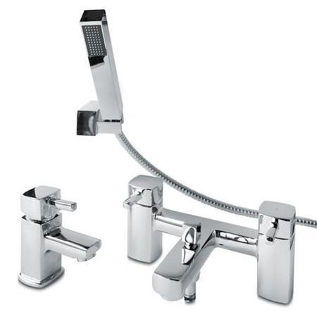 Form Basin Mono and Bath Shower Mixer Tap Pack