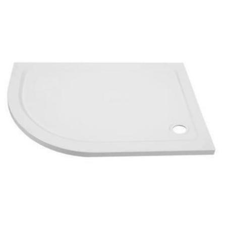 Ultralite 900 x 760 Left Hand Offset Quadrant Shower Tray