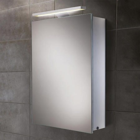 Galaxy Illuminated LED Mirrored Cabinet 700-750H 500W 155D