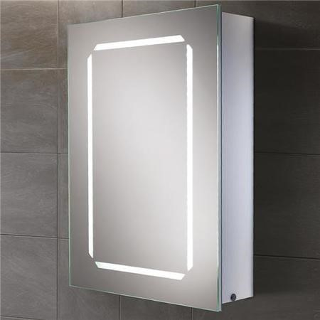 Bella Mode Illuminated Led Mirrored Cabinet 700 H 500 W 155 D Beba 10783