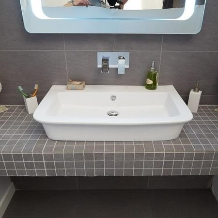 820mm Large Countertop Basin - Debonair Range