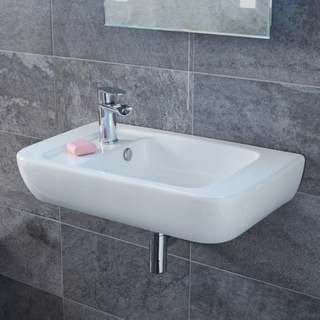 Left Hand Wall Hung Basin - Bellami
