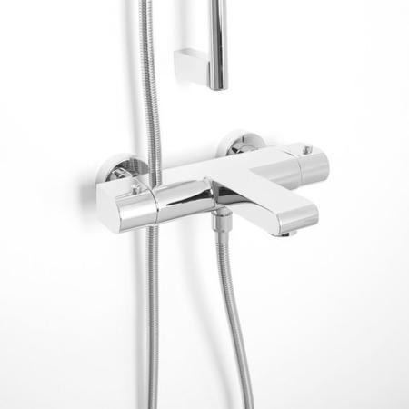 Vitalia Premium Wall Mounted Thermostatic Bath Shower Mixer