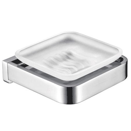 Avant Premium Cubic Soap Dish & Holder