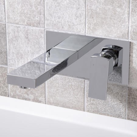 Cube Wall Mounted Bath Filler Better Bathrooms