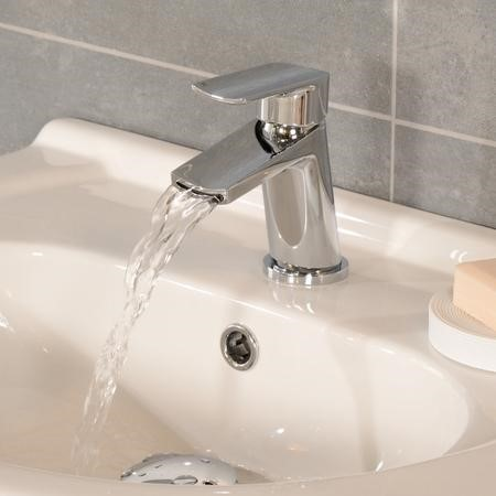 Voss Basin Waterfall Mixer Tap