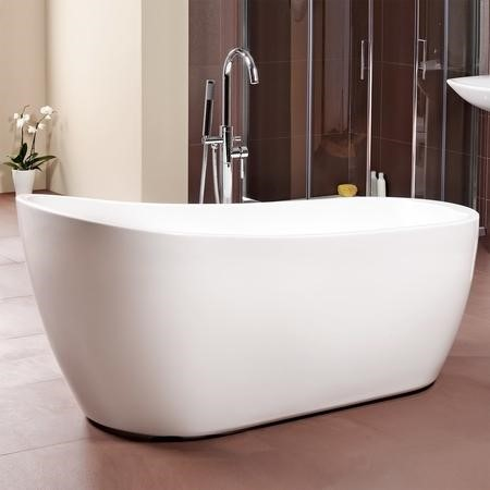 Freestanding Slipper Bath - L1520 x W720mm - Design