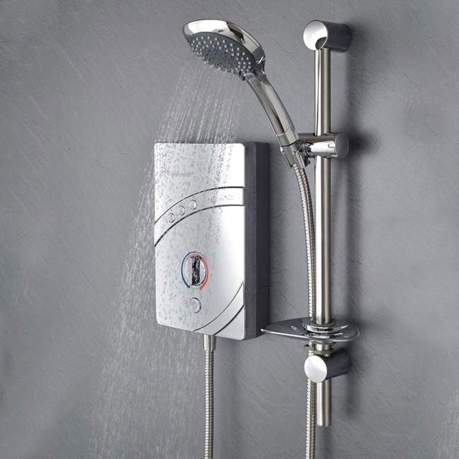 MX Inspiration QI Chrome 9.5kW Electric Shower