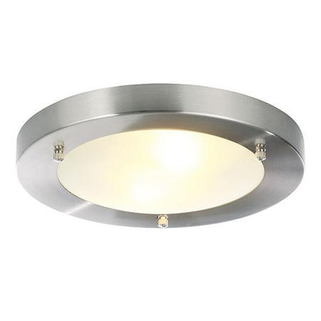 Sabor Large Frosted Flush Ceiling Light