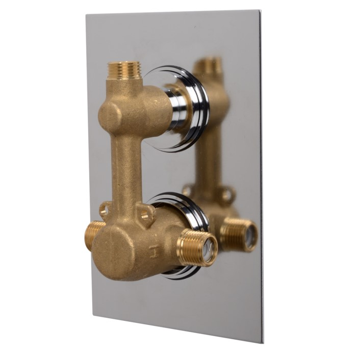 Shower Valve.Concealed Dual Control Shower Valve Ecocube Range