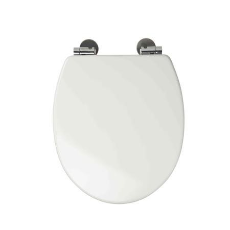 Sit Tight Dawson White Soft Close Moulded Wood Toilet Seat