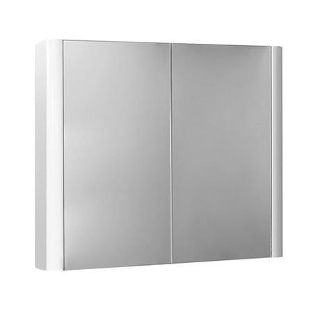 750mm Wall Hung Mirrored Cabinet - Double Door Unit -  Voss™ Range