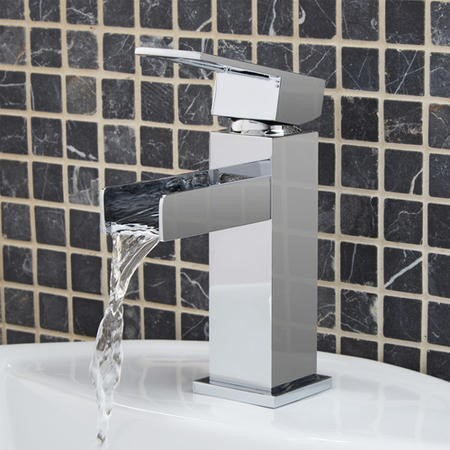 Oasis Waterfall Basin Mixer Tap