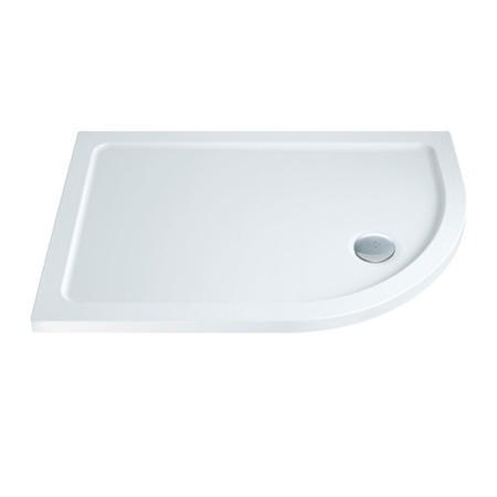 Slim Line 1200 x 900 Left Hand Quadrant Shower Tray