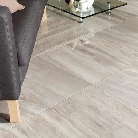 Atrium Kios Gris Glazed Porcelain Wall/Floor Tile