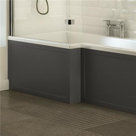 Nottingham Grey L shape Front Panel