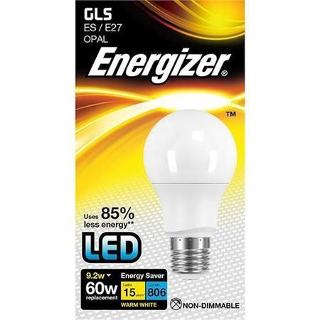 Energizer LED E27 Warm White Light Bulb