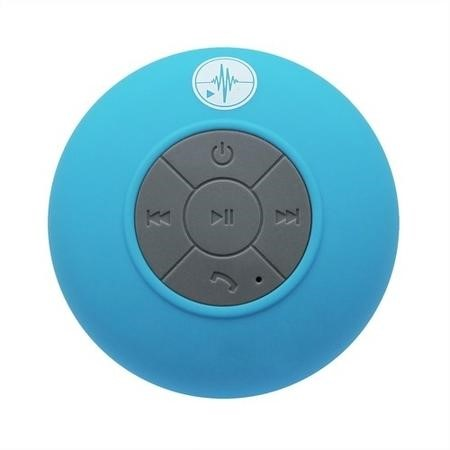 Blue Bluetooth Splashproof Speaker