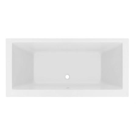Double Ended Straight Bath - L1800 x W800mm - Quatro