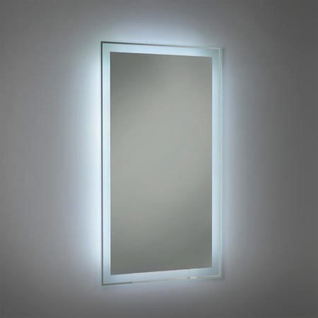 GRADE A1 - 800 x 400mm Framed Illuminated Mirror - Granada
