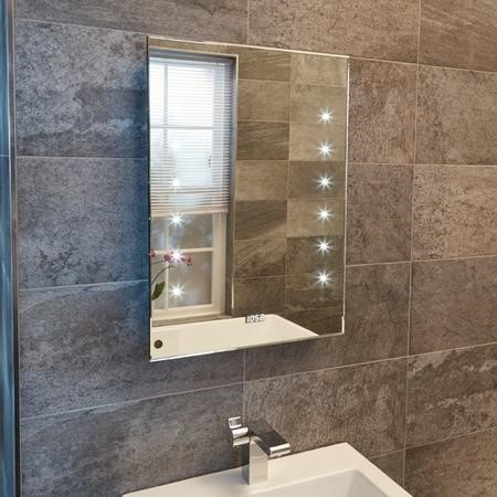 Aquarius 500mm Illuminated LED Mirror