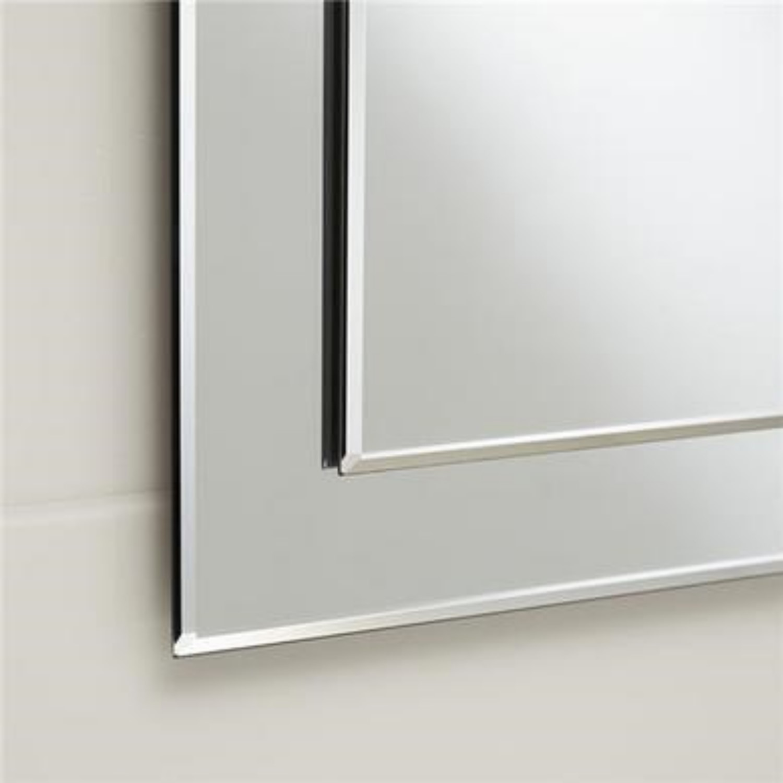 Rectangular Bevelled Bathroom Mirror 1200 X 500mm Tucana Better Bathrooms
