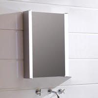 550mm Wall Hung Illuminated Mirrored Cabinet LED - Ora