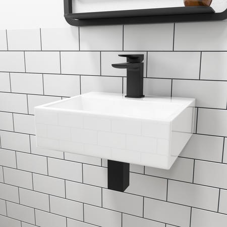 Houston 400mm Wall Hung / Countertop Basin