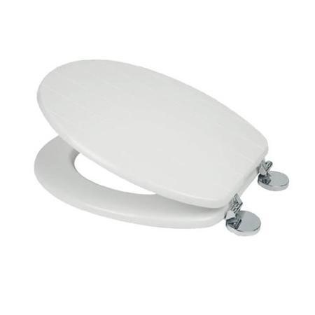 Flexi Fix Hayward White Toilet Seat