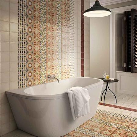 Seville Cream Plain Wall Tile - Better Bathrooms