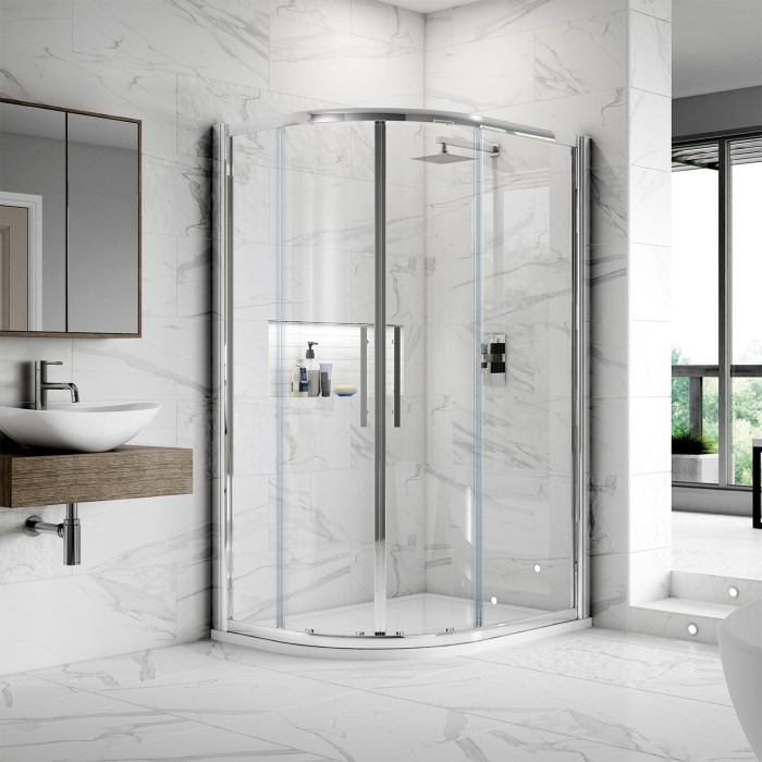 Apex 1000 X 800 Offset Quadrant Shower Enclosure Better