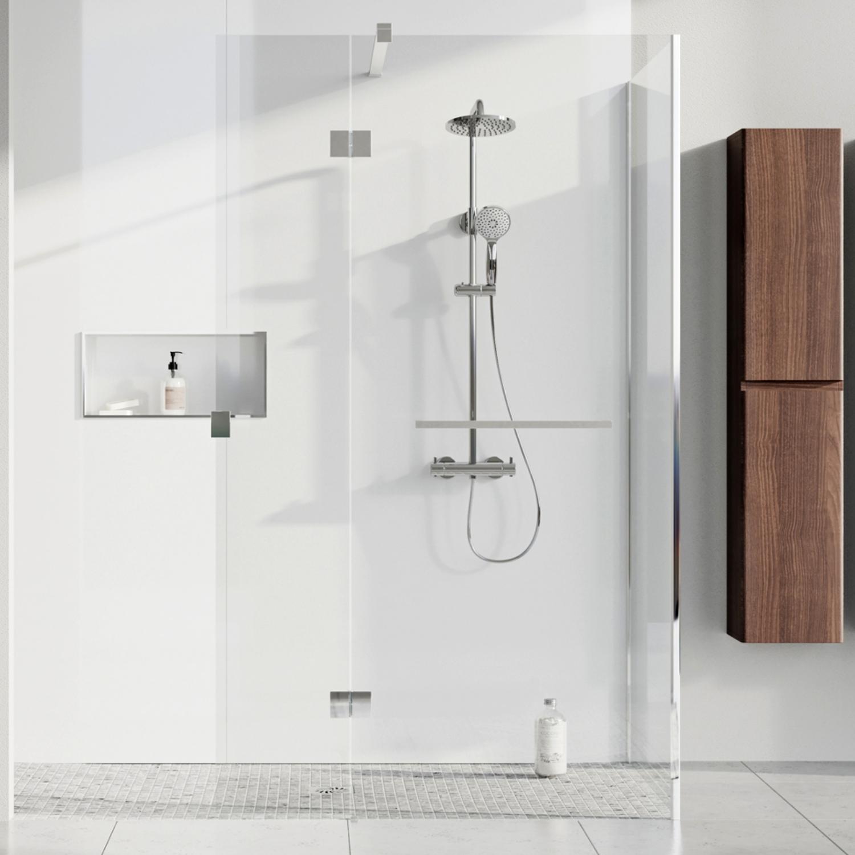 White Gloss Pvc Shower Wall Panel
