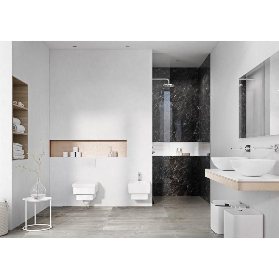 black marble pvc shower wall panel  2400 x 1200mm