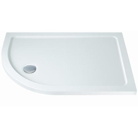 Slim Line 1000 x 800 Left Hand Offset Quadrant Shower Tray