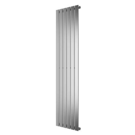 1800mm x 452mm Single Panel Chrome Vertical Radiator - Mojave